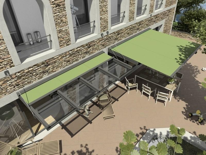 Arquati Genova | ARDON GP 2600 copertura vetro per terrazzi ...